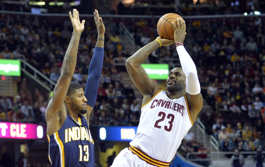 Cavs vs pacers